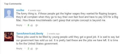 YouTube Fast Food Comments
