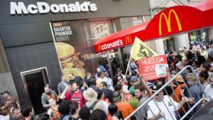 McDonald's Workers Strike